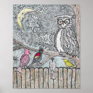 Flock Together Bird Print