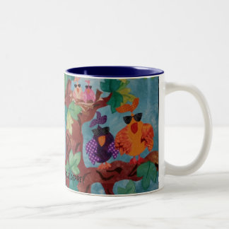 """Flocked"" Coffee Mug"