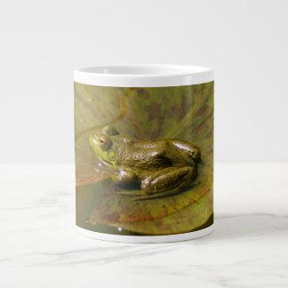 Flog on a Lily Pad Large Coffee Mug