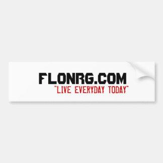 FLoNRG com Bumper Sticker