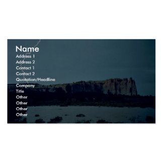 Flood at El Morro National Monument Business Cards