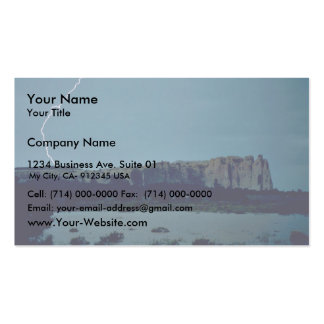 Flood at El Morro National Monument Pack Of Standard Business Cards