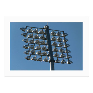 Flood Lights (Bordered) Pack Of Chubby Business Cards