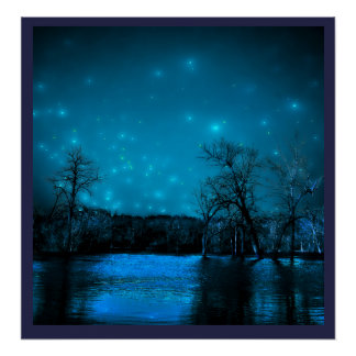 Flooded Night Poster