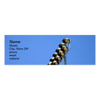 Floodlight Pack Of Skinny Business Cards