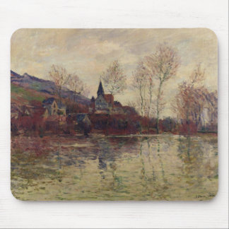 Floods at Giverny 1886 oil on canvas Mouse Pad