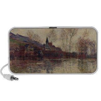 Floods at Giverny, 1886 (oil on canvas) iPhone Speaker