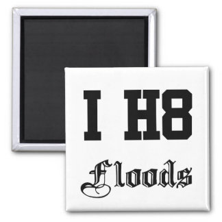 floods square magnet