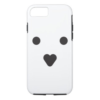 FLOOPYBEAR heart nose and eyes phone case