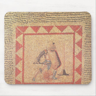 Floor depicting a gladiator, from Flace Mouse Pad