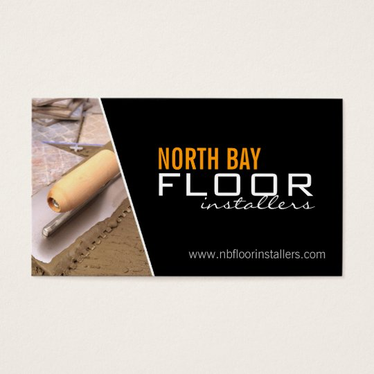 Floor Installers Business Cards