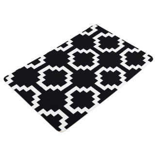 Floor Mat Black & White Rug