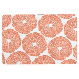 Floor Mat - Grapefruit to Suit