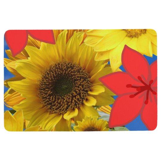Floor Mat Sunflowers