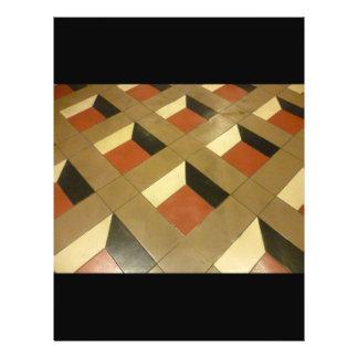 Floor Optical Illusion pattern tiles Las Vegas pho 21.5 Cm X 28 Cm Flyer