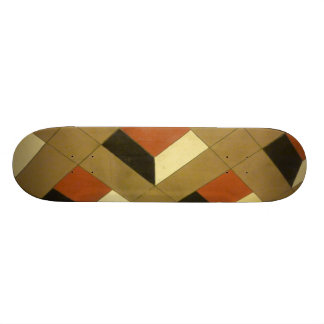 Floor Optical Illusion pattern tiles Las Vegas pho Skate Decks