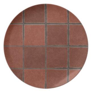 Floor tiles background plate