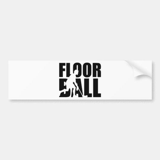 Floorball Bumper Sticker