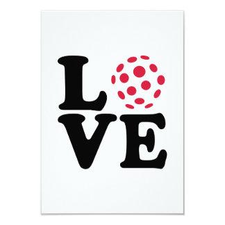Floorball love ball invite