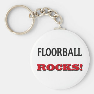 Floorball Rocks Key Ring