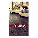 Flooring, Construction Business Card