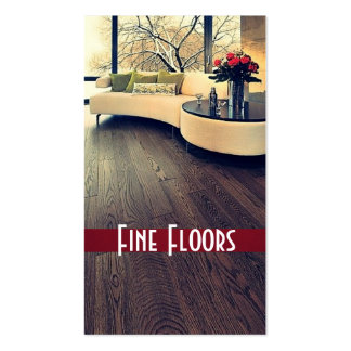 Flooring, Construction Business Card