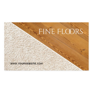 Flooring Installation Construction Business Pack Of Standard Business Cards