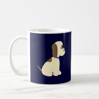 Flopper Doggie! Basic White Mug