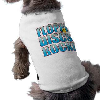 Floppy Discs Life B Sleeveless Dog Shirt