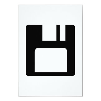 Floppy disk icon custom announcement