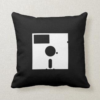 Floppy Disk Pictogram Throw Pillow