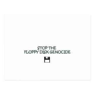 FLOPPY DISK POSTCARD