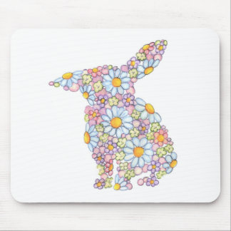 Floppy-Eared Bunny Mouse Pad
