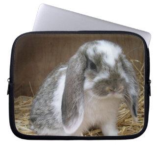 Floppy Ears Rabbit Laptop Sleeves