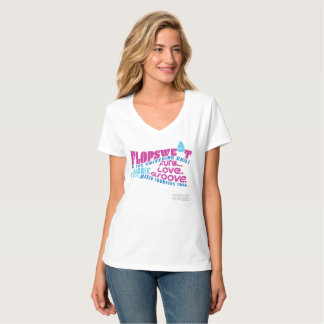 Flopsweat & the Shivering Chill Concert V-Neck T-Shirt