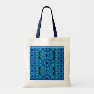 Flor Azul Tote Bag