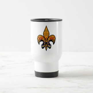 flor de leaf coffee mug