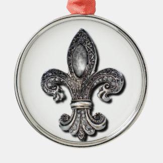 Flor De Lis Fleur De Lis symbol new orleans Christmas Ornament