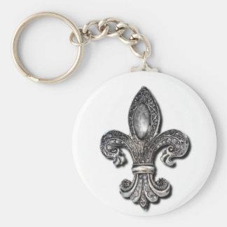 Flor De Lis Fleur De Lis symbol new orleans Key Ring