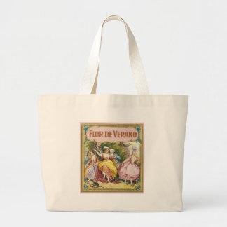 Flor De Verano Tote Bags