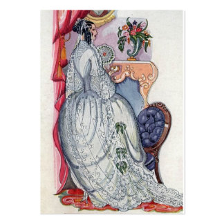 Flora, a Victorian Bride Pack Of Chubby Business Cards