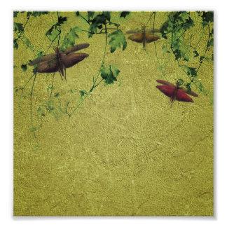 Flora and Fauna Photo Print