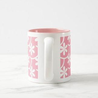 Flora Bold Two-Tone Coffee Mug