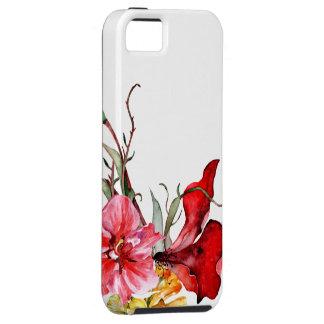Flora Botanica Bold Watercolor Flowers Tough iPhone 5 Case