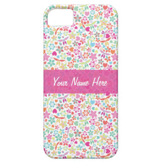 Flora Bright Pattern Case For The iPhone 5
