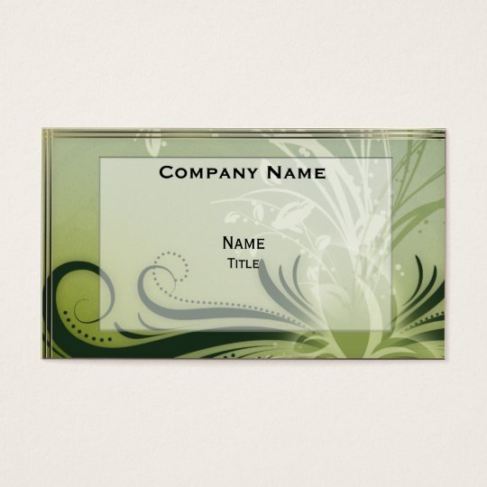 Flora Business Card