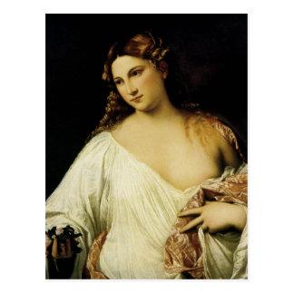 Flora, by Titian Postcard
