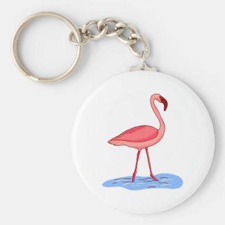 Flora Flamingo Key Ring
