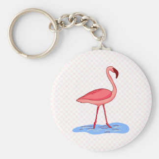 Flora Flamingo Keychains