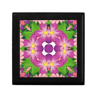 Flora Small Square Gift Box